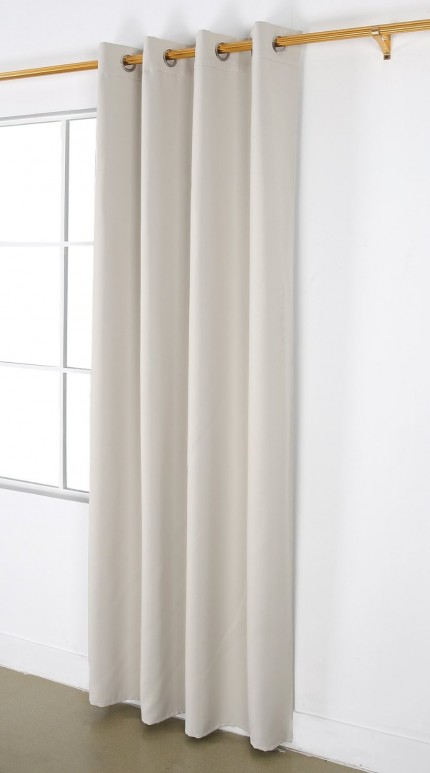 United Linens 1pc blackout curtain (54x84)