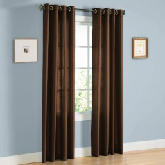 United Linens 2 piece faux silk panel (38x84)